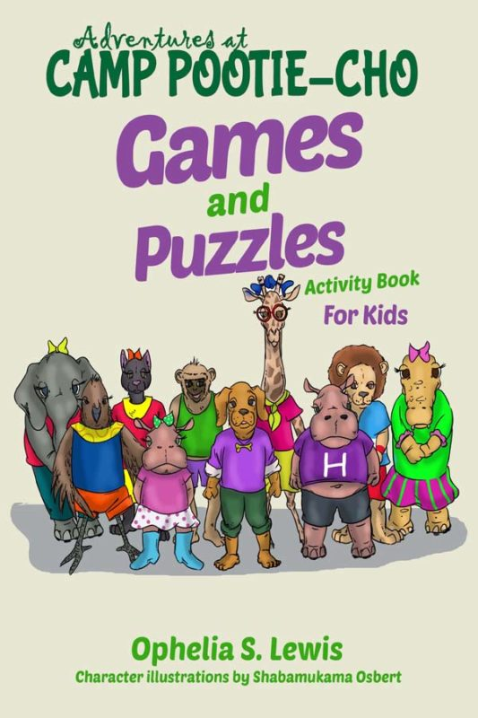 Games and Puzzles Activity Book (Adventures at Camp Pootie-Cho)